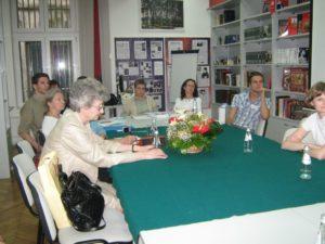 работа секции в Русском центре