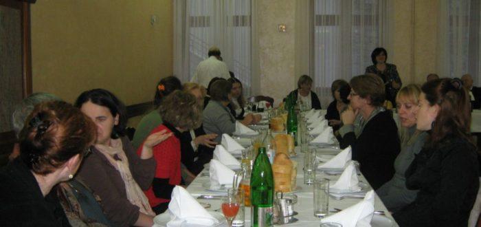 13 января 2012 г. За обедом