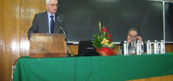 12 января 2012 г.: выступает Ю. Е. Прохоров